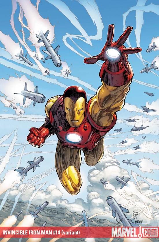 Iron Man 14 Alternate Cover
