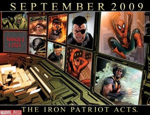The Iron Patriot Acts - Way Ahead of Marvel's Dark Reign?