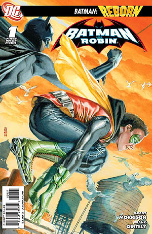 Batman and Robin #1 Varient Cover