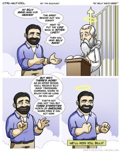 CAD Billy Mays Tribute Strip