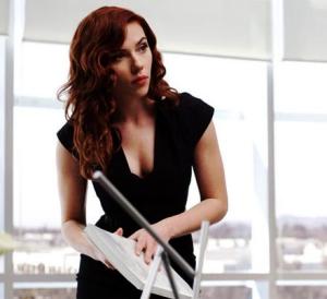 Scarlett Johannson as Natasha Romanoff