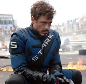 Tony Stark on the Track