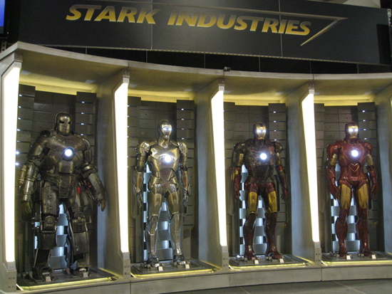 Iron Man 2 Hall of Armor