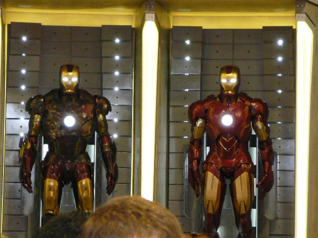 Iron Man Mark III and IV Armors
