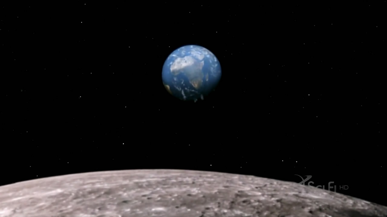 Earth from moon surface bsg s04e22 daybreak part 2